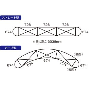 画像3: ニューイージーシステムパネル 3×3・3×4 カーブ型
